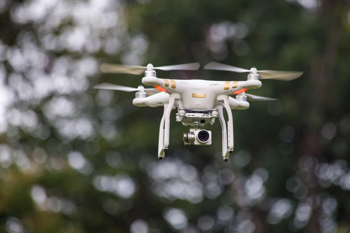 efektowne filmowanie przy uzyciu drona
